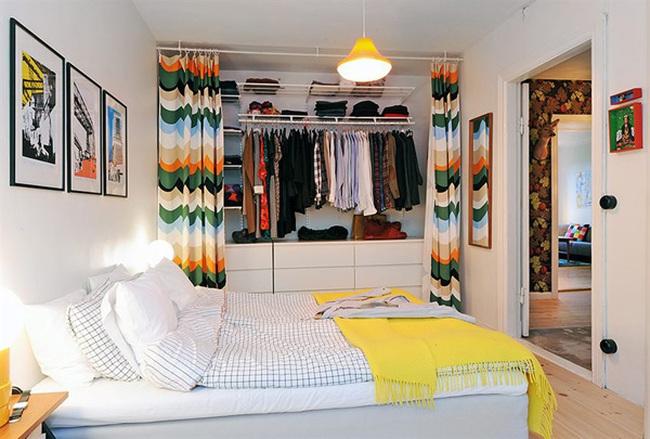 Đẹp hút hồn phòng ngủ phong cách Thuy Điển