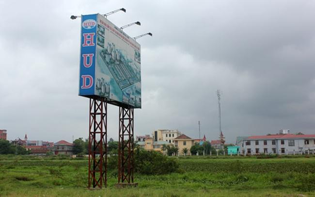 HUD dễ bị thu hồi 9,1ha đất tại Hà Tĩnh