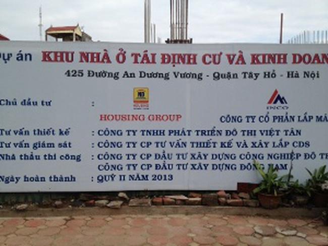 Mua nhà của Housing Group, 4 năm chưa xong móng