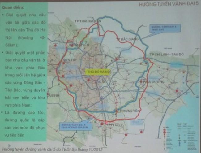 Năm 2020, thông toàn tuyến đường vành đai 5