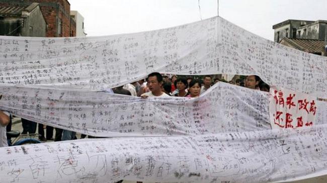 Trung Quốc: Sửa luật đất đai để bình ổn xã hội