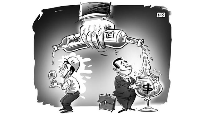 Doanh Nghiệp BĐS: Ngóng thưởng tết là xa xỉ