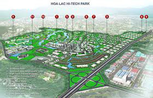 Vinaconex cho Đài Loan thuê đất 50 năm tại Khu công nghệ Hòa Lạc