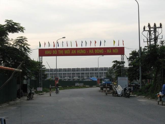 KĐT An hưng (Hà Đông) bỏ hoang vì khách không ở