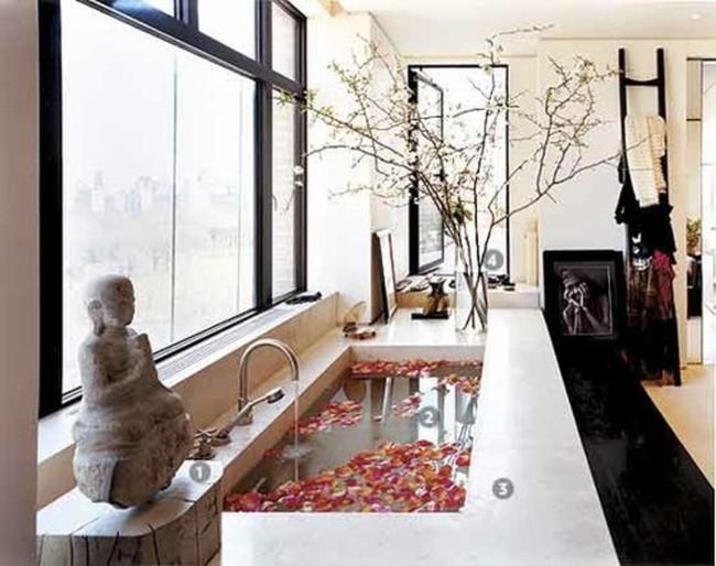Mãn nhãn với 25 thiết kế phòng tắm siêu lãng mạn