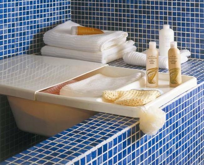 30 thiết kế siêu tiết kiệm diện tích cho phòng tắm