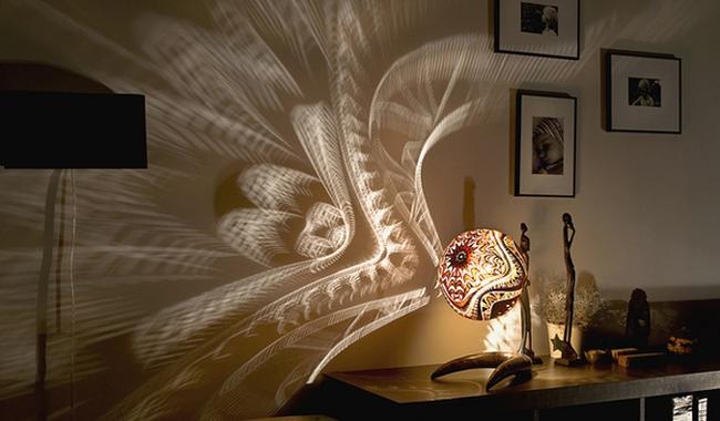 Thăng hoa cùng thiết kế đèn phòng độc đáo