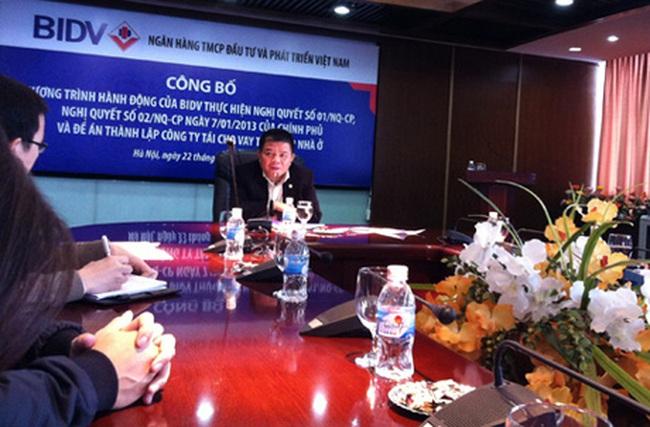 Chủ tịch BIDV: Ngân hàng không dại cho vay dự án đang ứ đọng