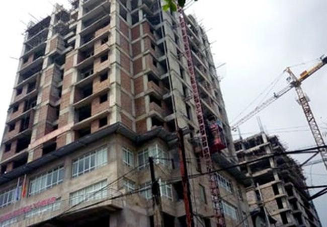 Tòa nhà 52 Lĩnh Nam chậm tiến độ, hàng trăm hộ dân đòi nhà