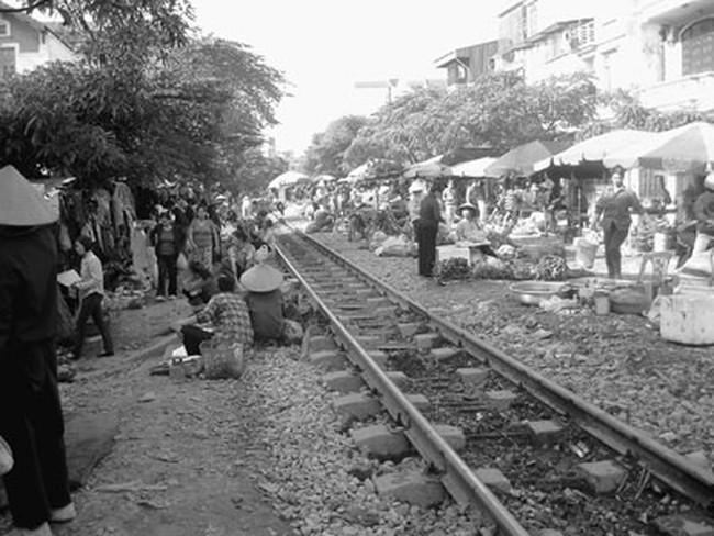 800 tỷ xây cầu vượt qua đường sắt Hà Nội