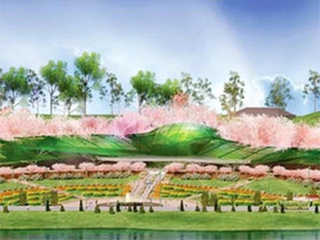 """Xóa sổ dự án """"vườn bách thảo kỳ hoa"""""""