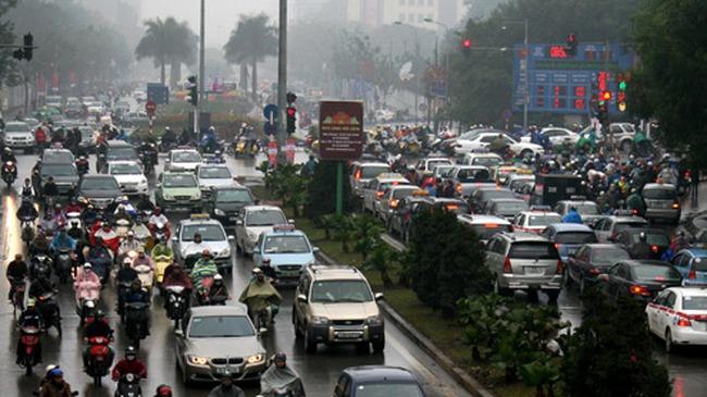 Hà Nội khởi công xây cầu vượt tại 2 nút giao lớn