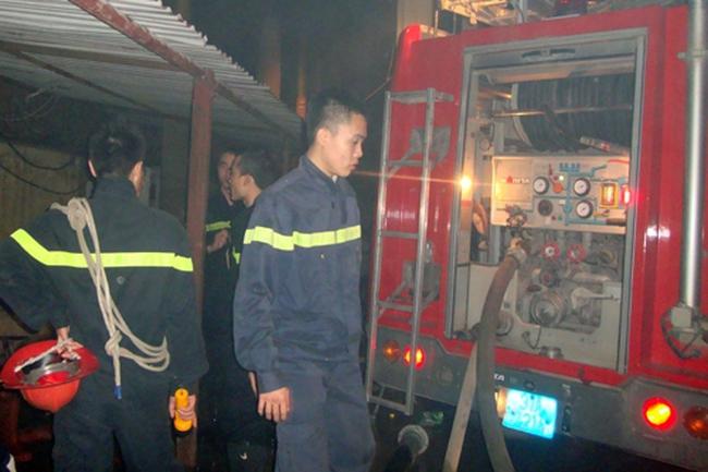 Hà Nội: Cháy lớn tại KCN Minh Khai