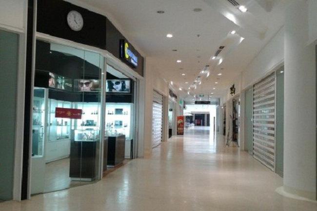 Vắng như trung tâm thương mại cuối năm