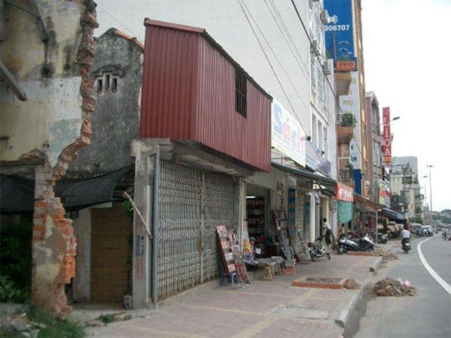 """Hà Nội còn 252 nhà- đất """"siêu mỏng, siêu méo"""""""