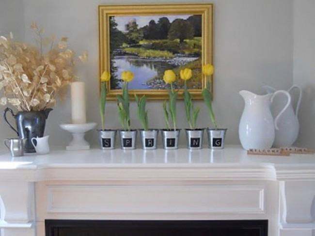 """""""Thổi bừng"""" hương sắc mùa xuân cho không gian nội thất (phần 2)"""