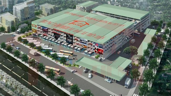 Tư nhân đầu tư 20 triệu USD xây nhà đậu xe cao tầng