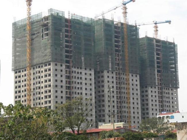 """""""Vỡ mộng"""" dự án 50 căn hộ Đại Thanh không sổ đỏ"""