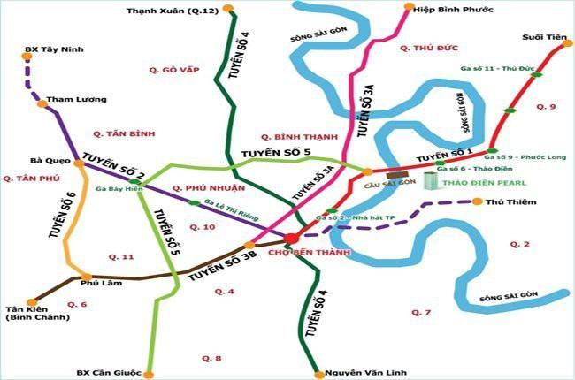 Khởi công đoạn đi ngầm metro số 2 vào cuối năm