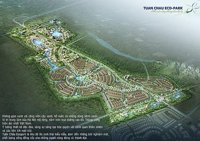 Dự án Tuần Châu Hà Nội vẫn chỉ là một bãi đất hoang cỏ dại