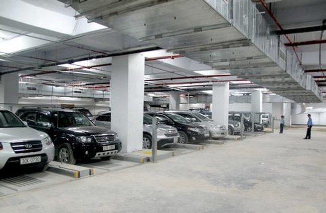 Xây bãi đỗ xe rộng hơn 60.000m2 tại Đền Lừ