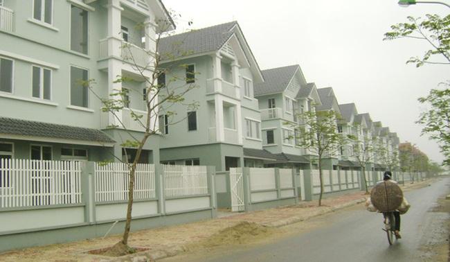 60% nhà hoàn thiện trong các khu đô thị chưa có người ở