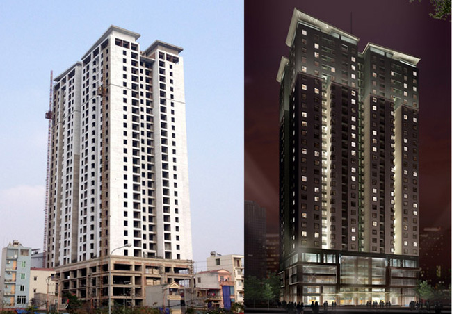 HUD3 đổi tên dự án Golden Palace