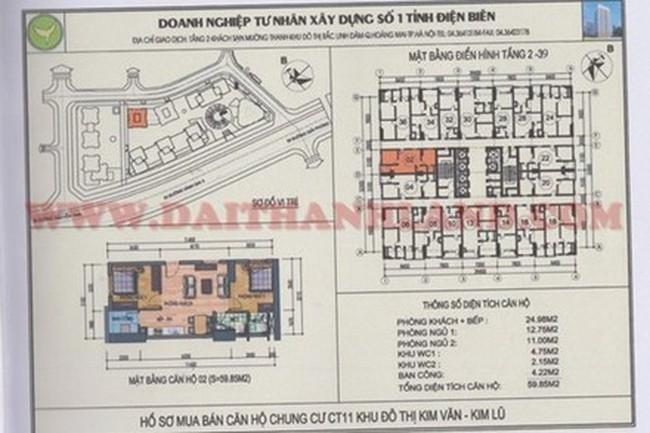 Sở QHKT HN: 'Tòa CT11 Kim Văn-Kim Lũ chỉ cao 36 tầng'