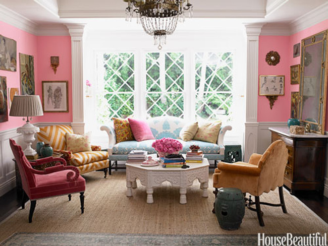 Nhìn màu sắc phòng khách, đoán tính cách gia chủ