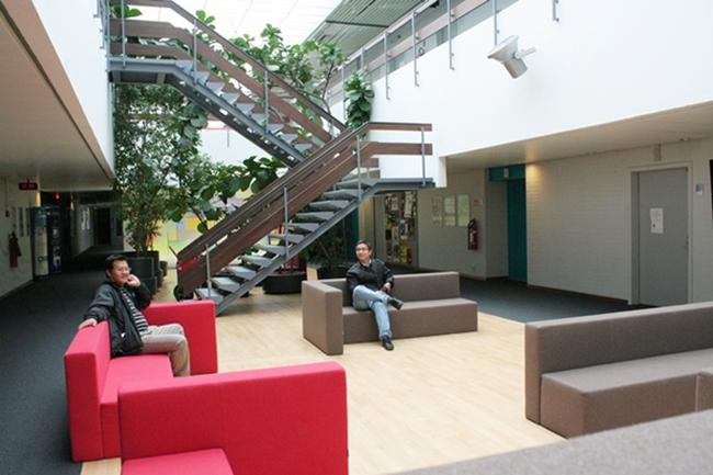 Không gian xanh ở Đài truyền hình Bỉ