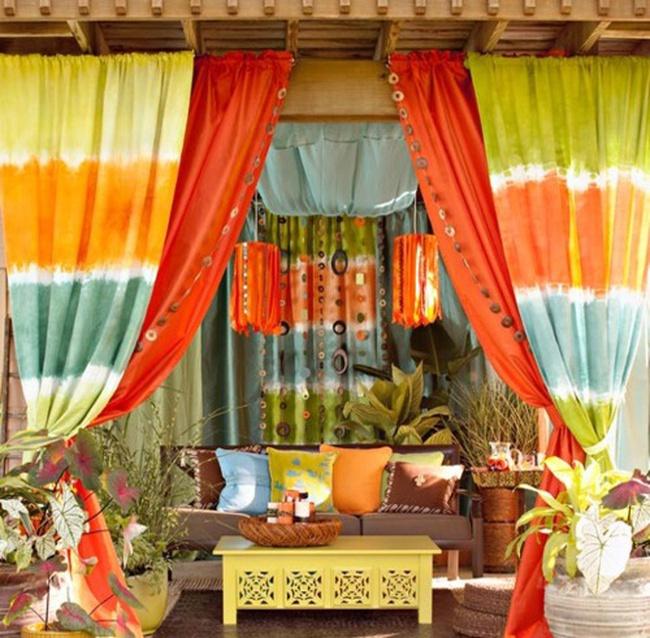 Vũ điệu sắc màu cho thềm nhà thêm xinh