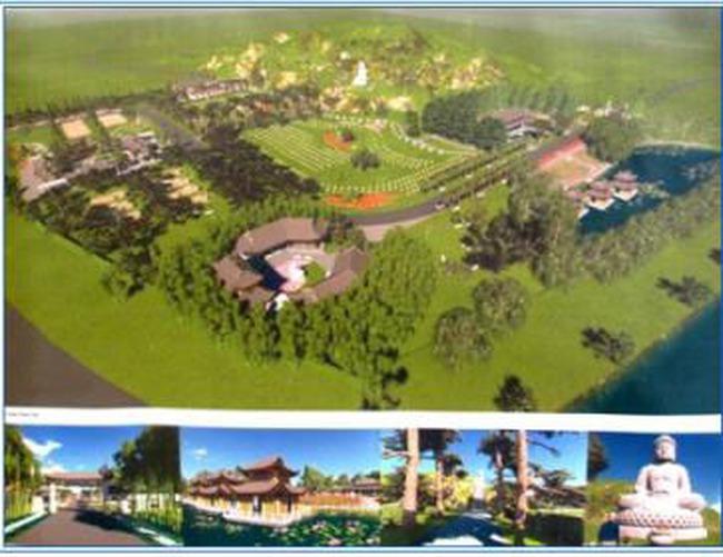 Chuẩn bị khởi công Dự án Công viên tưởng niệm thiên đường Thanh Tước