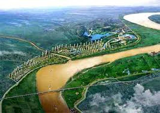 Cấp phép xây dựng dự án nắn dòng chảy sông Hồng