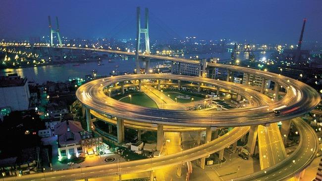 Ngắm cây cầu có kiến trúc tuyệt đẹp ở Thượng Hải