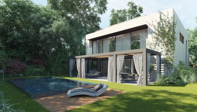 Thiết kế nhà vườn ấn tượng