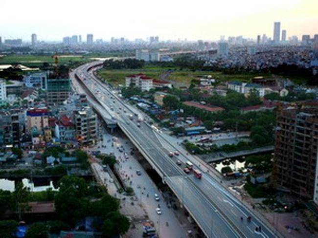 Hà Nội khởi công đường vành đai 2 đoạn Ngã Tư Sở - Ngã Tư Vọng