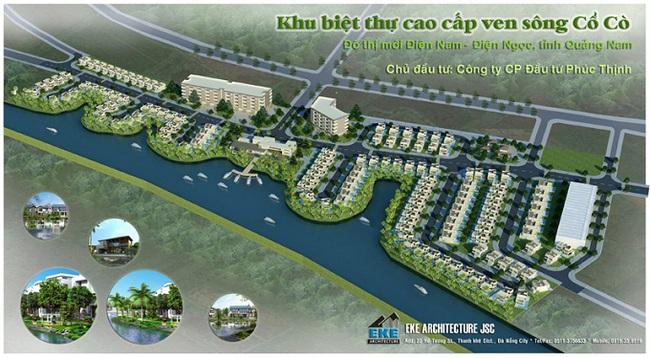 Quảng Nam: Thu hồi dự án Khu biệt thự cao cấp ven sông Cổ Cò