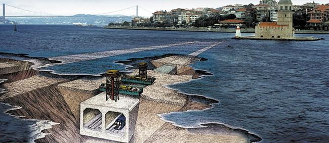 Khai trương tuyến đường hầm vượt biển nối liền Á - Âu 4,5 tỷ USD