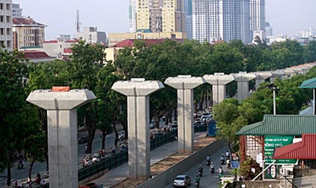 Cần 205 tỷ đồng chi trả đền bù GPMB dự án đường sắt đô thị Cát Linh - Hà Đông