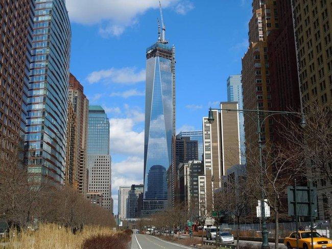 Tòa tháp Trung tâm Thương mại thế giới mới cao nhất nước Mỹ
