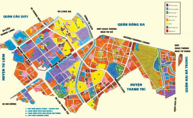 Quận Thanh Xuân, Hà Nội: 100% diện tích đất đô thị vào năm 2020