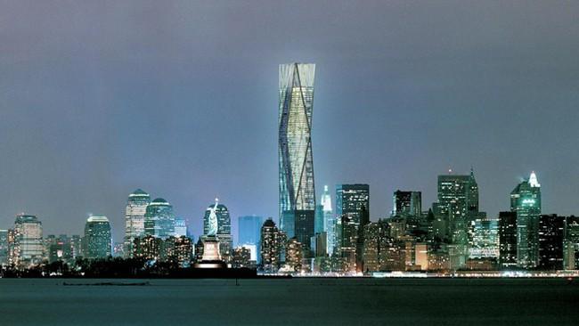 Tranh cãi quanh tòa tháp cao nhất nước Mỹ