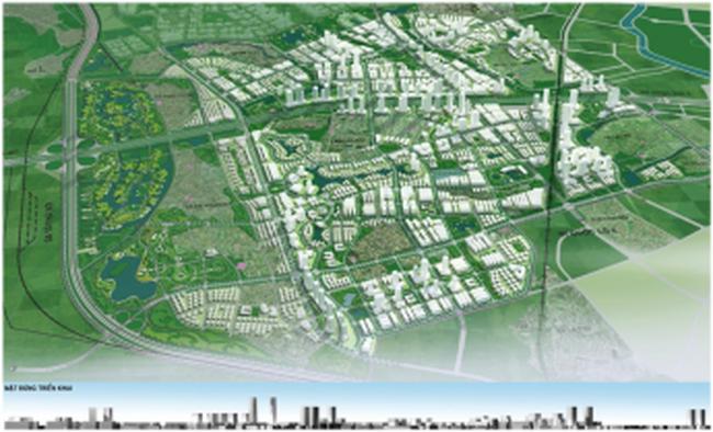 Công bố hai đồ án quy hoạch phân khu S3, S4 phía tây Hà Nội