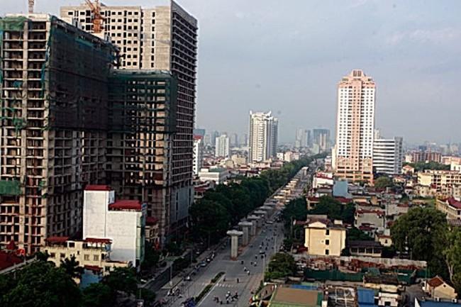 Cuối năm 2015, đường sắt trên cao Cát Linh-Hà Đông sẽ đi vào hoạt động