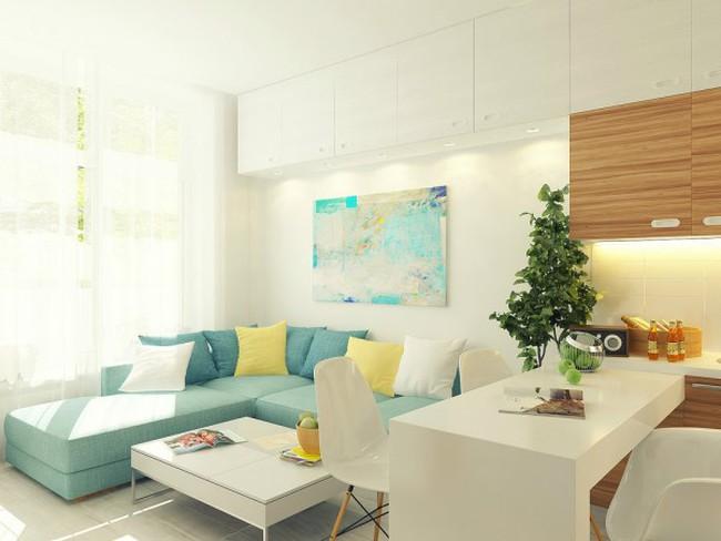Ngắm thiết kế cực chuẩn của căn hộ 29m2