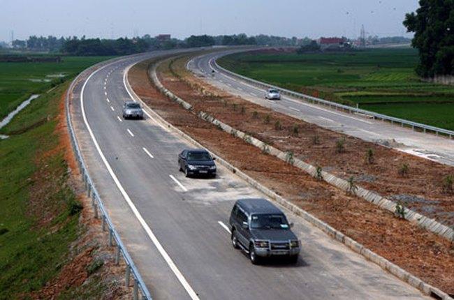 Tháng 1/2014, thông xe toàn tuyến cao tốc Hà Nội -Thái Nguyên