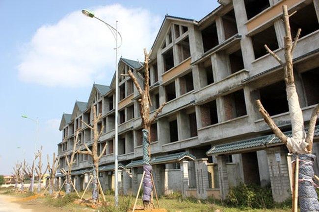 """""""Chùn chân"""" ở khu đô thị Kim Chung – Di Trạch"""