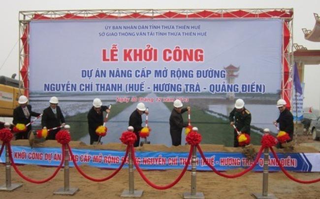 Hơn 109 tỷ đồng mở rộng đường Nguyễn Chí Thanh
