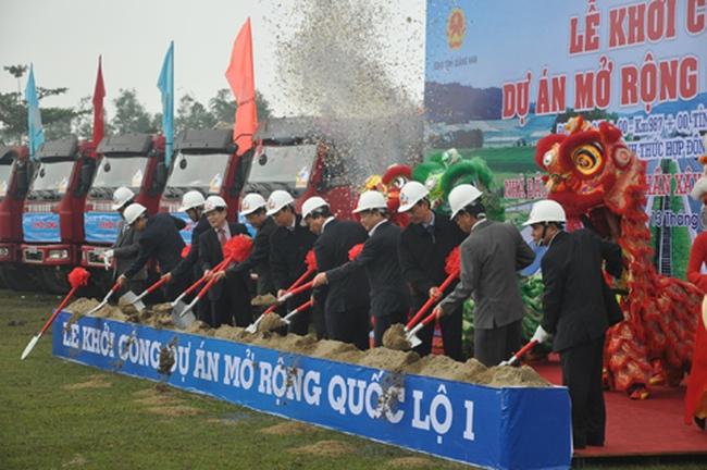 Hơn 7 triệu USD mở rộng QL 1A Đà Nẵng-Quảng Nam