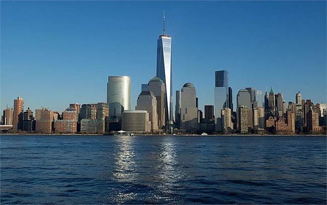 Cận cảnh Tháp Tự Do thay thế Tháp Đôi bị đánh sập ở Mỹ